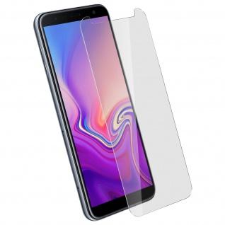9H Displayschutzfolie aus Glas Samsung Galaxy J6 Plus, bruchsicher - Transparent