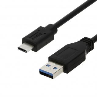 USB-Typ C auf USB Ladekabel (Aufladen und Synchronisierung) - 2Meter - Schwarz