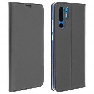 Klappetui mit Kartenfach & Standfunktion Huawei P30 Pro Schwarz