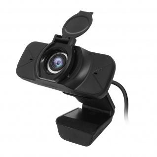 PC / Computer USB-Webcam Hohe Auflösung Full HD 1080P Weitwinkel ? Schwarz