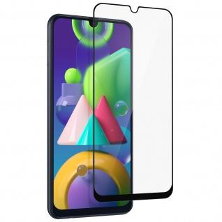 9H Härtegrad Displayschutzfolie für Samsung M21 / M31 / M30s â€? Rand Schwarz