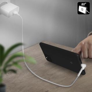 USB / USB-C Kabel mit abgewinkeltem Stecker 1m Inkax CK71 ? Weiß - Vorschau 3