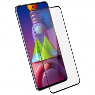9H Härtegrad Glas-Displayschutzfolie Samsung Galaxy M51 â€? Schwarz