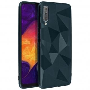 Holographische Handyhülle für Samsung Galaxy A50, Prism Design, Mocca - Blau - Vorschau 2