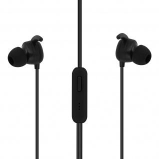 Setty Sport in-ear Kopfhörer mit 3.5mm Klinkenstecker und Mikrofon â€? Schwarz