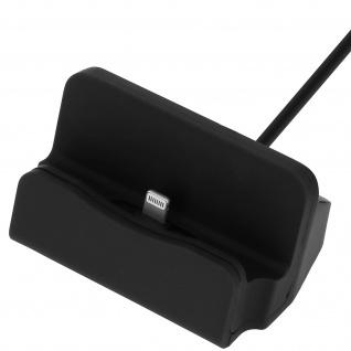 iPhone Ladestation Aufladen & Synchronisierung mit Lightning Anschluss � Schwarz