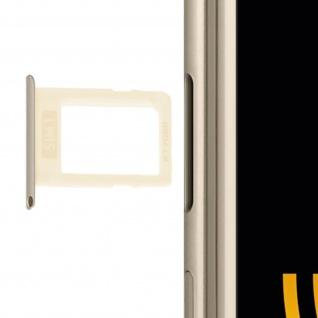 SIM-Ersatz-Kartenhalter für Samsung Galaxy J3 2017 Ersatzteil - Gold