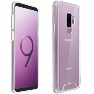 Cristal Hybrid Schutzhülle, Backcover für Samsung Galaxy S9 Plus ? Transparent