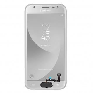 Ersatzteil Haupttaste mit Flexkabel für Samsung Galaxy J3 2017 Schwarz
