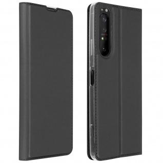 Klappetui mit Kartenfach & Standfunktion Sony Xperia 1 II � Schwarz
