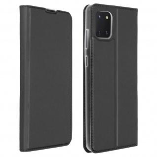 Klappetui mit Kartenfach & Standfunktion Samsung Galaxy Note 10 Lite - Schwarz