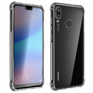 Premium Schutz-Set Huawei P20 Lite Schutzhülle + Schutzfolie ? Transparent