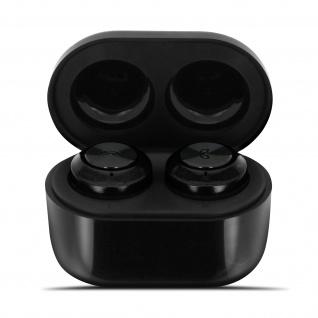 Bluetooth 5.0 Sport Wireless Headset, In-Ear, IPX5 - Schwarz