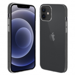 Apple iPhone 12 Mini flexible Handyhülle, Glossy Silikon Bumper ? Transparent