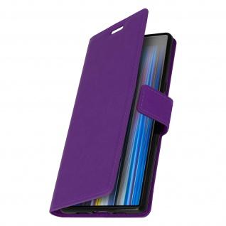 Flip Stand Cover Brieftasche & Standfunktion für Sony Xperia 10 - Violett - Vorschau 2