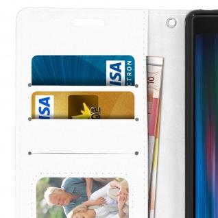 Flip Stand Cover Brieftasche & Standfunktion für Sony Xperia 10 - Weiß - Vorschau 5