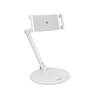 LinQ HD3278 Schreibtischständer, stabiler Sockel, Multi-Winkel-Arm - Weiß