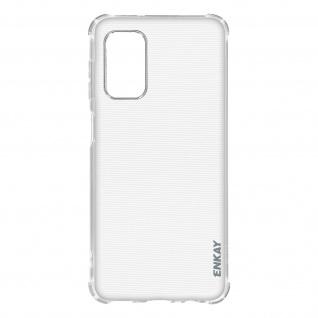 Flexible Samsung Galaxy A32 Silikon Bumper Hülle, stoßfest - Transparent