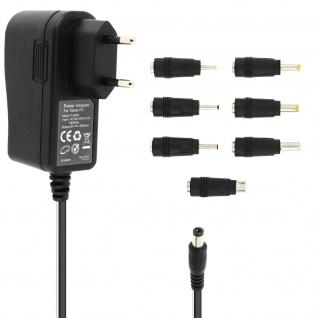 10W Netzladegerät mit 6 Spitzen + micro-USB T-3A08 LinQ - Schwarz