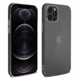 Apple iPhone 12 Pro Max ultradünne Silikon Schutzhülle ? Transparent