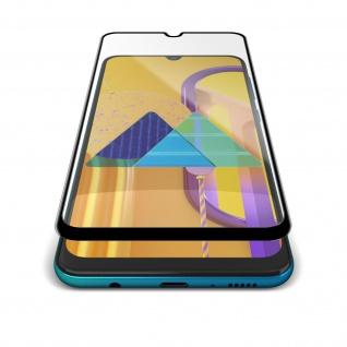9H Härtegrad Glas-Displayschutzfolie Samsung Galaxy M30s ? Rand Schwarz