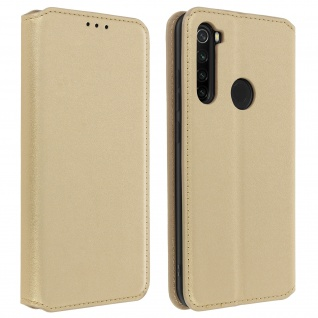 Kunstleder Cover Classic Edition Xiaomi Redmi Note 8 - Gold