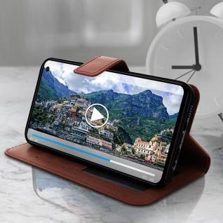 Flip Stand Cover Brieftasche & Standfunktion für Samsung Galaxy S10e - Braun - Vorschau 4