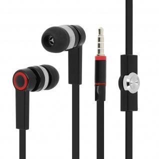 Forever in-ear Kopfhörer mit Fernbedienung und Mikrofon - Schwarz