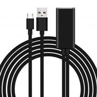 Micro USB / RJ45 Universal Ethernet Adapter 100Mbps Geschwindigkeit � Schwarz