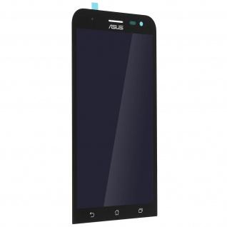Ersatzdisplay Asus Zenfone 2 Laser ZE500KL, Komplettset mit Touchscreen Schwarz