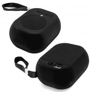 F4314 Bluetooth kabelloser BTS Lautsprecher mit Mikrofon - Schwarz