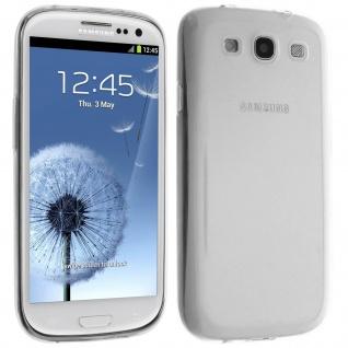 Galaxy S3, Galaxy S3 4G Schutzhülle Silikon ultradünn (0.30mm) - Transparent