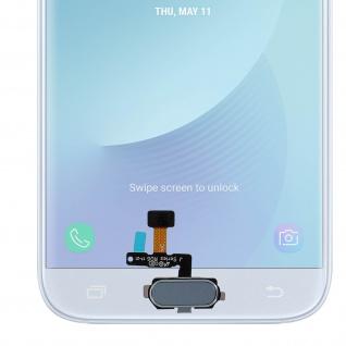 Ersatzteil Haupttaste mit Flexkabel für Samsung Galaxy J5 2017 Blau