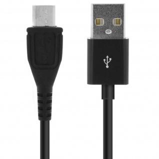 USB auf Micro-USB Ladekabel (Aufladen und Synchronisierung) ? 2Meter ? Schwarz - Vorschau 4