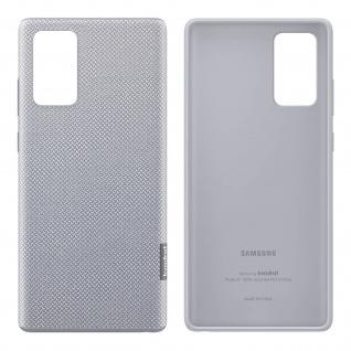 Original Samsung Kvadrat Cover für Samsung Galaxy Note 20 â€? Grau