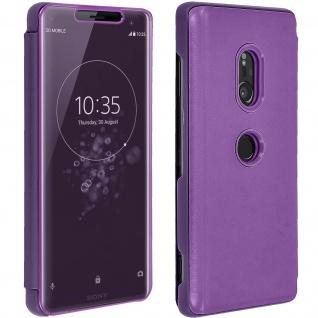 Sony Xperia XZ3 View Cover mit Spiegeleffekt - Violett