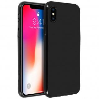 Unverbrüchliche schwarze Schutzhülle aus Silikon für Apple iPhone X