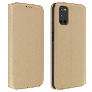 Kunstleder Cover Classic Edition Oppo A72, Oppo A52 - Gold