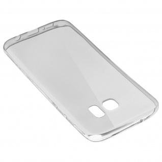 Samsung Galaxy S7 Edge Schutz-Set - transparente Hülle + Glas-Displayschutzfolie