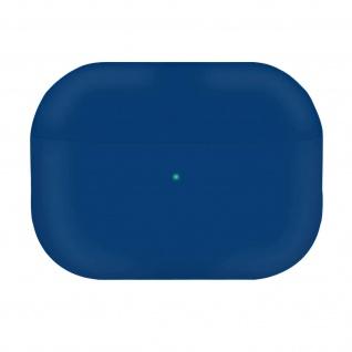 AirPods Pro Silikonhülle mit Soft-Touch Oberfläche, QI-Kompatibel - Dunkelblau