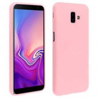 Samsung Galaxy J6 Plus stoßfeste Soft Touch Schutzhülle ? Rosa