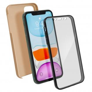 Schutzhülle für Apple iPhone 11, Vorder- + Rückseite ? Gold