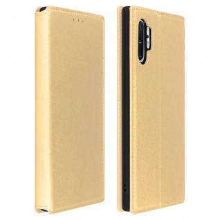 Kunstleder Cover Classic Edition Samsung Galaxy Note 10 Plus - Gold