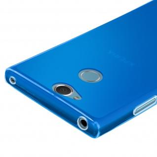 Gelhülle, Backcover für Sony Xperia XA2, Anti-Fingerabdruck, flexibel - Blau - Vorschau 4