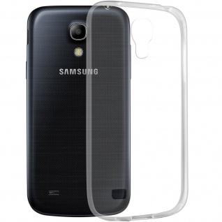 Samsung Galaxy S4 Mini Schutzhülle Silikon ultradünn (0.30mm) - Transparent