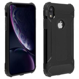 Defender II schockresistente Schutzhülle (1, 80M) Apple iPhone XR - Schwarz