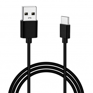 Original Xiaomi USB auf USB-C Lade-/Datebkabel, 1, 2m - Schwarz