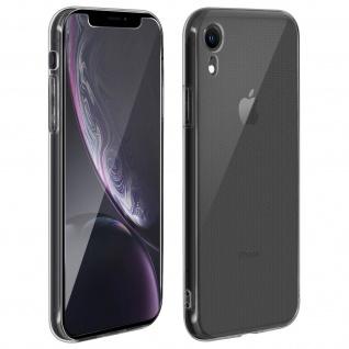 360° Protection Pack für iPhone XR: Backcover + Displayschutzfolie aus Glas