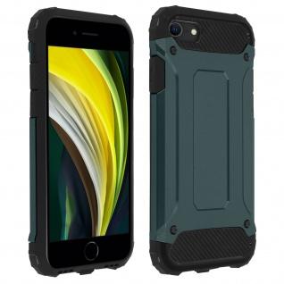 Defender II schockresistente Schutzhülle iPhone 7 / 8 / SE 2020 - Dunkelblau