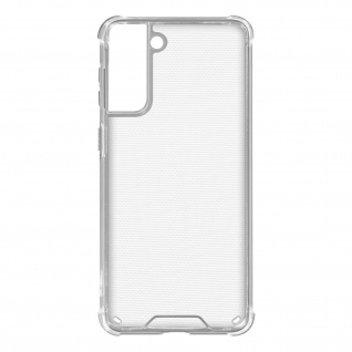 Flexible Samsung Galaxy S21 Plus Silikon Bumper Hülle, stoßfest - Transparent